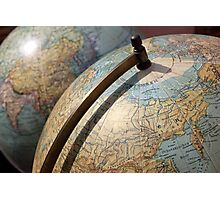 Vintage Globes Photographic Print