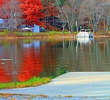 Fall Colors on the Water by Nazareth