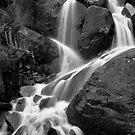 Waterfall Upper Yosemite National Park by photosbyflood