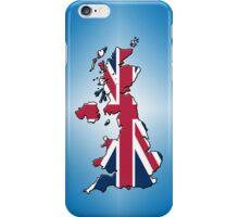 Smartphone Case - Cool Britannia - Blue Diamond Background iPhone Case/Skin
