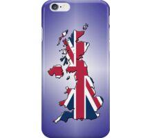 Smartphone Case - Cool Britannia - Purple Diamond Background iPhone Case/Skin