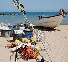 Fishing Boat and Equipment by jojobob
