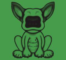 Black Dot English Bull Terrier Puppy Design Kids Clothes
