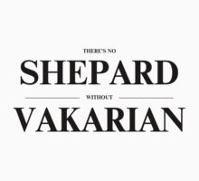 There's no Shepard without Vakarian by fallenobsidian