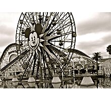 Mickey's Ferris Wheel Photographic Print