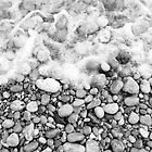 Capri Beach Pebbles by Christopher Clark