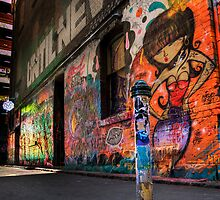 Hosier Lane No 1 by DaveBassett