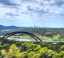 Pennybacker Bridge HDR by KKooPhotography