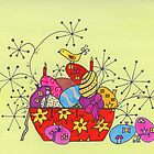 Little People in the Easter Basket by urmysunshine