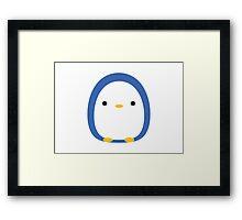 Roly Poly Penguin Framed Print