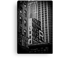black n'white, blocks n'boxes.... Canvas Print