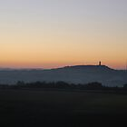 Castle Hill & Emley Moor At Sunrise by Richard Nelson