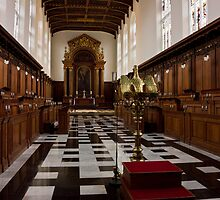 Trinity College Chapel in Cambridge by kirilart