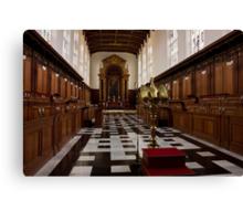 Trinity College Chapel in Cambridge Canvas Print