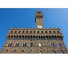 Palazzo Vecchio in Florence Photographic Print