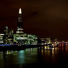 The River Thames at Night by DavidHornchurch