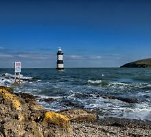 Penmon Lighthouse by Darren Wilkes