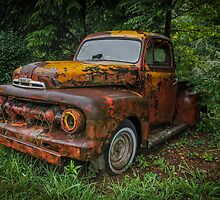 Old Ford Truck by Bob Melgar