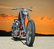 Red Chopper G by DaveKoontz