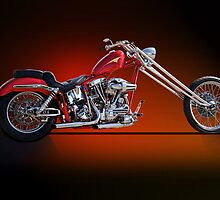 Red Chopper A by DaveKoontz