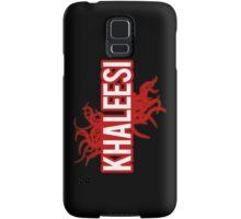 Khaleesi [red] Samsung Galaxy Case/Skin