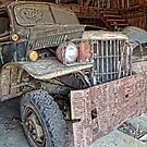 old dodge truck3 by Kathleen Small Wilkie