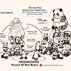 Planet Of The Bears by Panda And Polar Bear