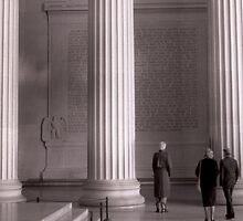 Lincoln Memorial by Kevin Duke