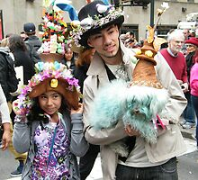 Easter Day Parade, New York City, March 31,2013  by lenspiro