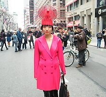 Colorful Hat, Easter Day Parade, New York City, March 31, 2013 by lenspiro