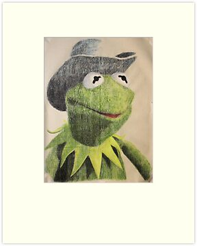 Mr Kermit T. Frog by Peter Brandt