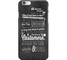 The Rains of Castamere iPhone Case/Skin