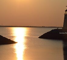 Lake Hefner Lighthouse in Oklahoma City by KKooPhotography