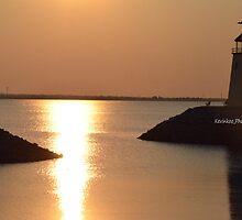 Lake Hefner Lighthouse in Oklahoma City by KKooPhotography