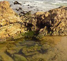 Laguna Beach Rocks by Chad Burrall