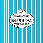 WDW Dapper Dans Name Tag - Blue by jdotcole