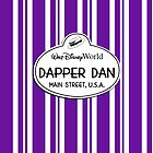 WDW Dapper Dans Name Tag - Purple by jdotcole