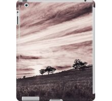 Autumn Morning Magic B&W iPad Case/Skin