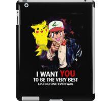 Ash Wants YOU iPad Case/Skin