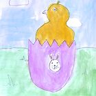 'Little Easter Chicken' by Laura by DrawingFactory