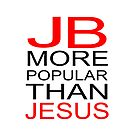 Justin Bieber iPad case- JB is more popular than jesus by RokkaRolla