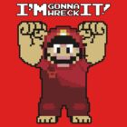 Wreck It Mario by hardsign