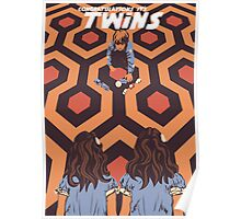 Congratulations It's Twins The Shining Horror Birthday Greetings Card Poster