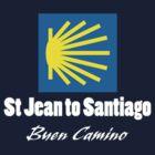 St Jean to Santiago by Mark Higgins