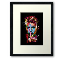 Bowie Framed Print