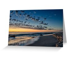 After the Sun Goes Down Greeting Card