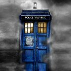 Tardis doctor who - Tardis in the cloud apple iphone 5, iphone 4 4s, iPhone 3Gs, iPod Touch 4g case, Available for T-Shirt  by www. pointsalestore.com