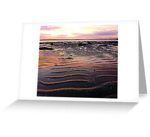 Low Tide At Mill Bay Greeting Card