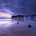 Cromer Pier at low tide by Justin Minns