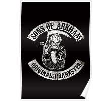Sons Of Arkham STICKER, PRINT, I PAD, PHONE Poster